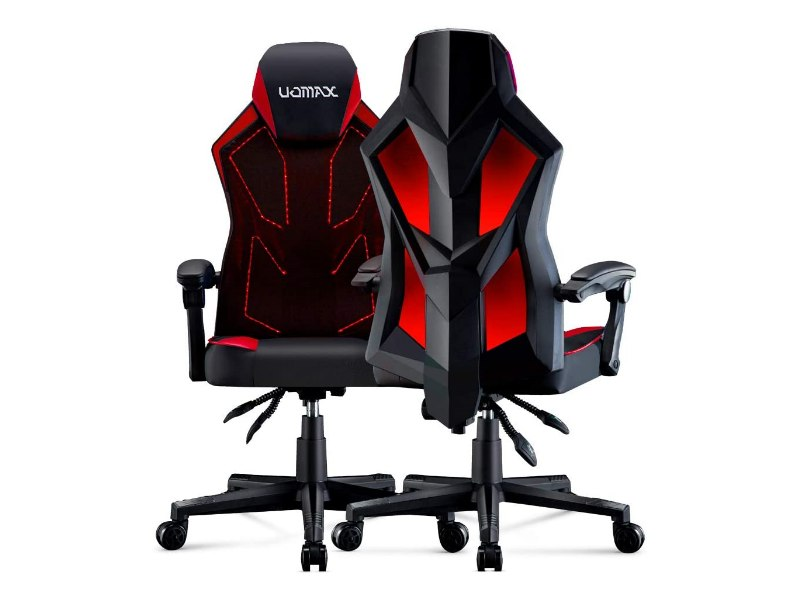 UOMAX Gaming Chair - E-Sports LED Light Computer Chair